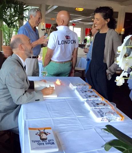 Book Signing, Southhampton, Sept. 19, 2015