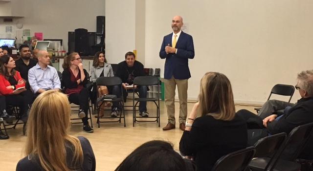 Manhattan Youth Center, April 27, 2017